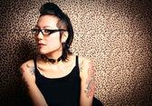 Princesa de tatuagem — Foto Stock