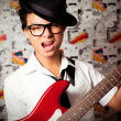 Young Musician — Stock Photo
