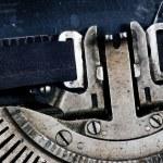 Aged typewriter — Stock Photo