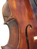 Contrabass - detail — Stock Photo