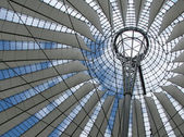 Roof of the Sony Center — Stock Photo
