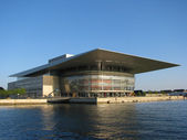 Royal opera house de copenhague — Foto de Stock