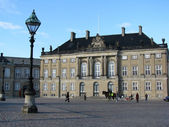 Danish royal palace — Stockfoto