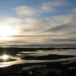 Morning in Pingvellir national park, Iceland — Stock Photo