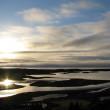 Morning in Pingvellir national park, Iceland — Stock Photo
