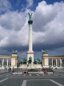 Heroes' Square in Budapest, Hungary — Stock fotografie