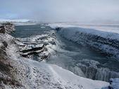 Gullfoss 瀑布冰岛 — 图库照片