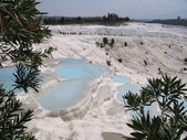 Pamukkale, Nature wounder of Turkey — Stockfoto