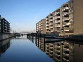 New modern buildings in Hellerup, Copenhagen — Stock Photo