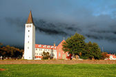 Icelandic church — Stock Photo