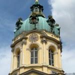 Tower of Charlottenburg palace — Stock Photo