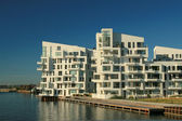 New modern buildings in Copenhagen — Stockfoto