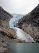 Briksdalsbreen Glacier in Norway — Stock Photo