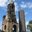 Kaiser-wilhem-gedachtniskirche in berlin, germany — Stock Photo #5365812