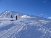 Slope of Jasna ski resort — Stockfoto