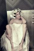 Fashion lady — Stock Photo