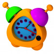 Stock Photo: ORANGE ALARM