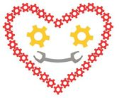 3d mechanik srdce — Stock fotografie