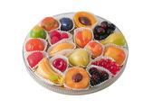 Geléia de frutas — Fotografia Stock