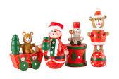 детские деревянные игрушки — Стоковое фото
