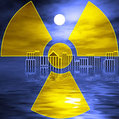 Nuclear disasters — Stock Photo