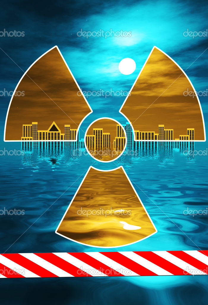 Nuclear disasters like in Japan or Tschernobyl are threatening mankind. — Stock Photo #5210537