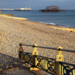 West pier brighton england — Stock Photo