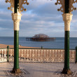 Brighton bandstand pier england — Stock Photo