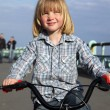Boy,child,bicycle,cycling,riding,outdoors,ride,bike,kid,leisure, — Stock Photo #4498334