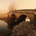 石の橋のパノラマ — ストック写真