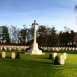 War memorial cemetery — Stock Photo