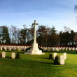 War memorial cemetery — Stock Photo #4499655