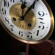 Clock vintage midnight — Stock Photo