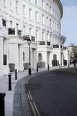 Crescent apartments brighton regency architecture — Stock Photo