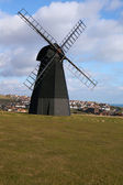 Windmill old mill town england — Stock Photo