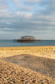 Brighton east pier england — Stock Photo