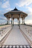 Bandstand victorian brighton england — Stock Photo