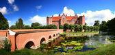 Castle manor house — Stock Photo