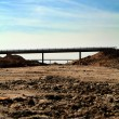 Motorway construction — Stock Photo