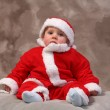 Royalty-Free Stock Photo: Father christmas child