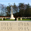 Stock Photo: World war graves