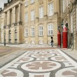 Queens Royal castle denmark copenhagen — Stock Photo