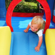 Child bouncy castle — Stock Photo