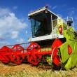 Combine harvester — Stock Photo #4503876