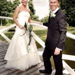 Wedding couple — Stock Photo #4504560