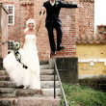 Wedding couple — Stock Photo #4504593