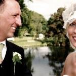 Wedding couple — Stock Photo #4504643