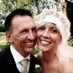 Wedding couple — Stock Photo #4504671