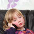 Stock Photo: Child mobile phone