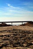 Motorway construction — Stock Photo